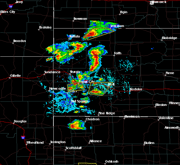 Radar Image for Severe Thunderstorms near Hill City, SD at 7/2/2020 3:37 PM MDT