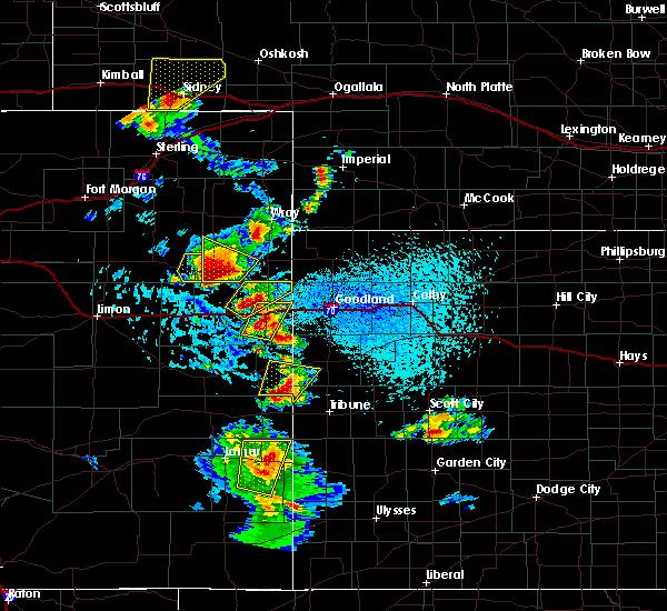 Radar Image for Severe Thunderstorms near Kanorado, KS at 7/2/2020 3:42 PM MDT