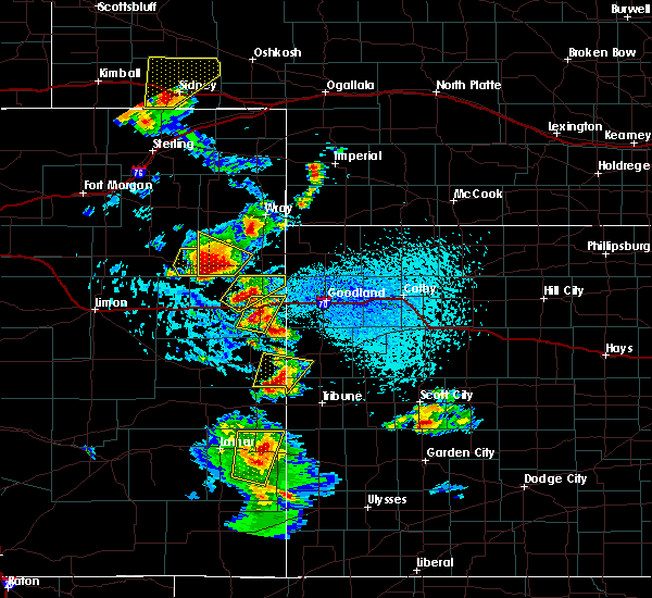 Radar Image for Severe Thunderstorms near Granada, CO at 7/2/2020 3:46 PM MDT