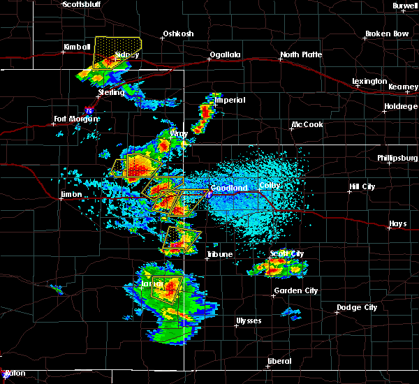 Radar Image for Severe Thunderstorms near Laird, CO at 7/2/2020 3:56 PM MDT