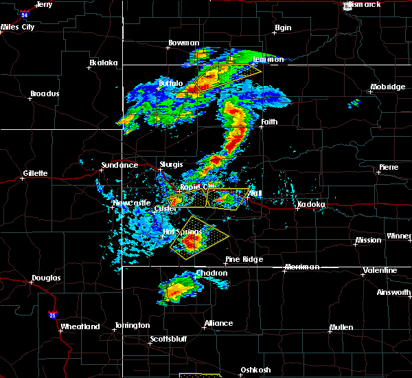 Radar Image for Severe Thunderstorms near Colonial Pine Hills, SD at 7/2/2020 4:06 PM MDT