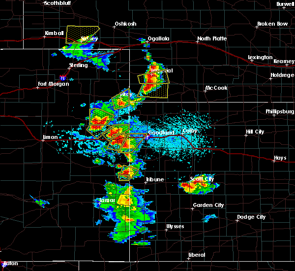 Radar Image for Severe Thunderstorms near Laird, CO at 7/2/2020 4:08 PM MDT