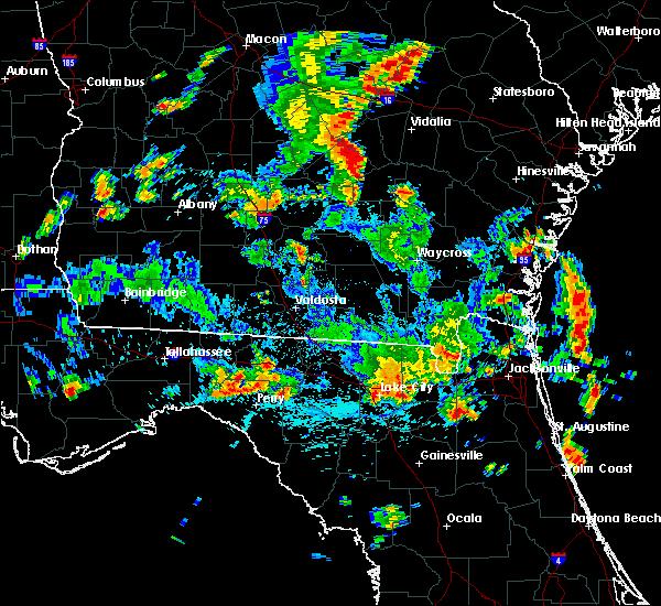 Radar Image for Severe Thunderstorms near Madison, FL at 6/30/2015 3:18 PM EDT