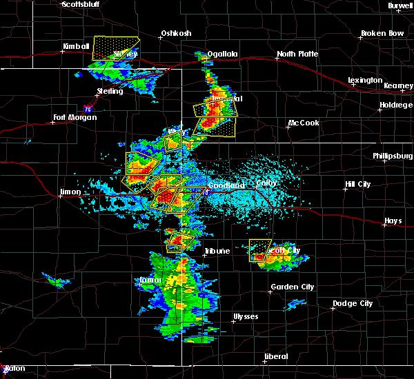 Radar Image for Severe Thunderstorms near Imperial, NE at 7/2/2020 4:10 PM MDT