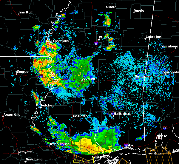 Radar Image for Severe Thunderstorms near Eudora, AR at 7/2/2020 5:12 PM CDT