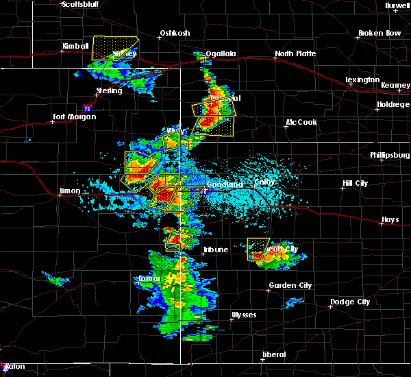 Radar Image for Severe Thunderstorms near Laird, CO at 7/2/2020 4:14 PM MDT