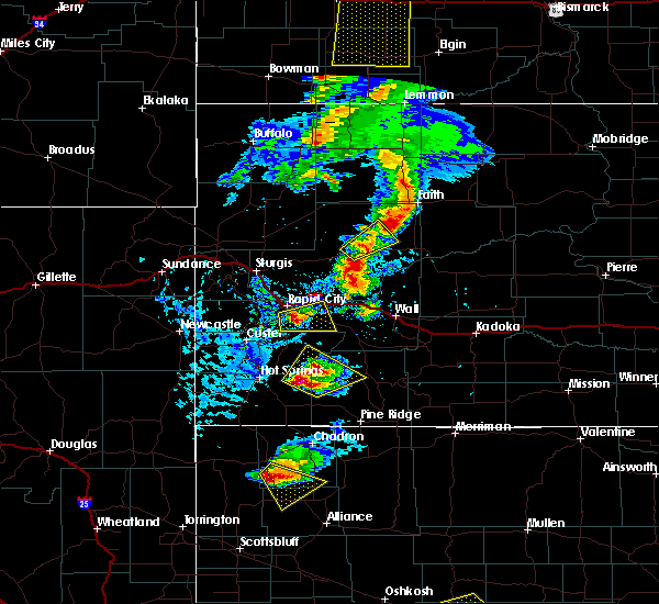 Radar Image for Severe Thunderstorms near Green Valley, SD at 7/2/2020 4:32 PM MDT
