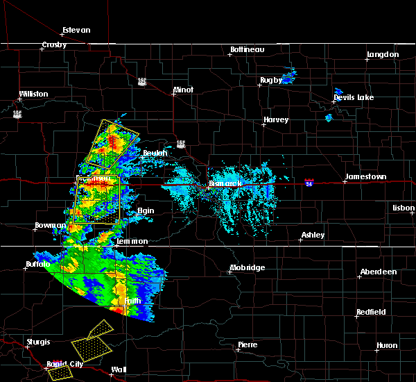 Radar Image for Severe Thunderstorms near Taylor, ND at 7/2/2020 4:41 PM MDT