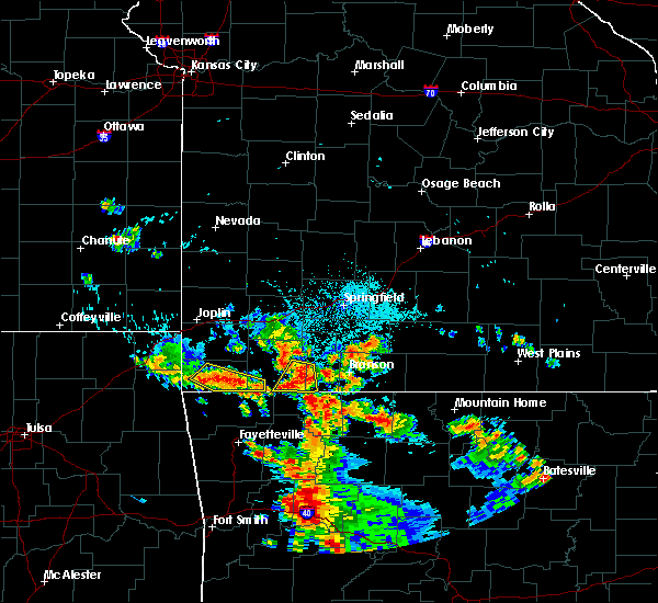 Radar Image for Severe Thunderstorms near Washburn, MO at 7/2/2020 5:56 PM CDT
