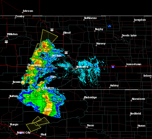 Radar Image for Severe Thunderstorms near New England, ND at 7/2/2020 4:59 PM MDT