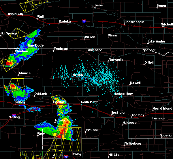 Radar Image for Severe Thunderstorms near Sarben, NE at 7/2/2020 5:00 PM MDT