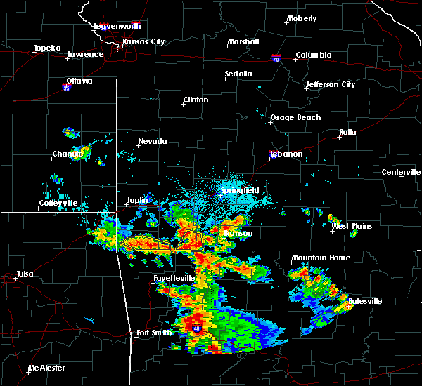 Radar Image for Severe Thunderstorms near Washburn, MO at 7/2/2020 6:03 PM CDT