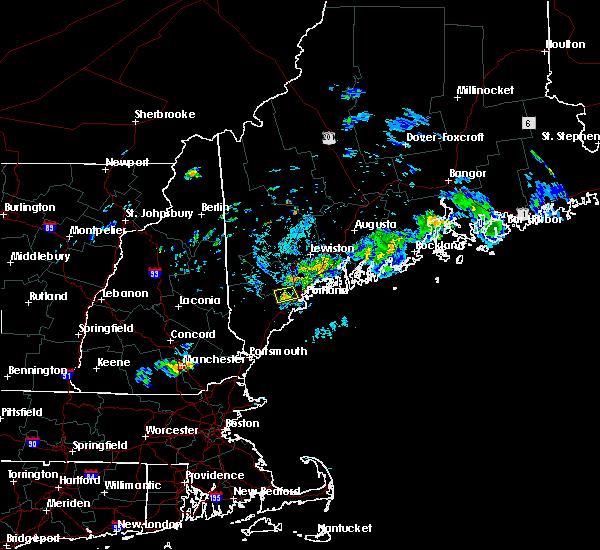 Radar Image for Severe Thunderstorms near Little Falls, ME at 7/2/2020 7:31 PM EDT