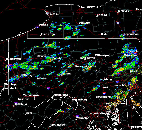 Radar Image for Severe Thunderstorms near Mifflinburg, PA at 6/30/2015 3:31 PM EDT