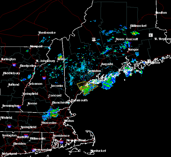 Radar Image for Severe Thunderstorms near Falmouth Foreside, ME at 7/2/2020 8:14 PM EDT