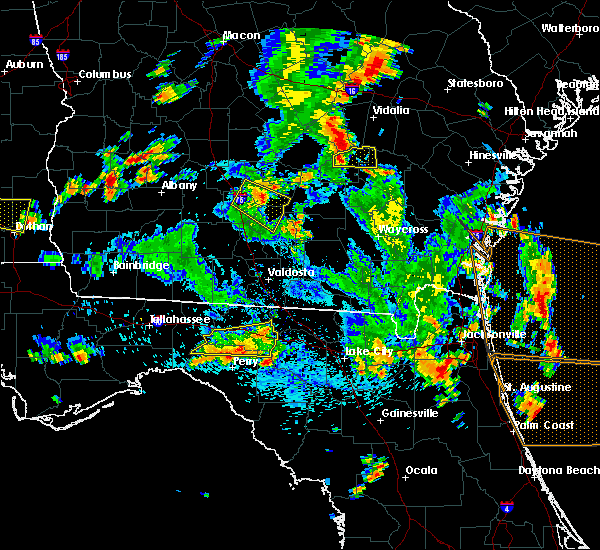 Radar Image for Severe Thunderstorms near Madison, FL at 6/30/2015 3:34 PM EDT