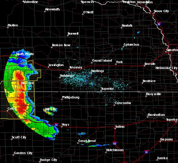 Radar Image for Severe Thunderstorms near Elwood, NE at 7/2/2020 7:24 PM CDT