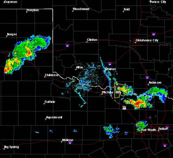 Radar Image for Severe Thunderstorms near Sugden, OK at 7/2/2020 7:40 PM CDT