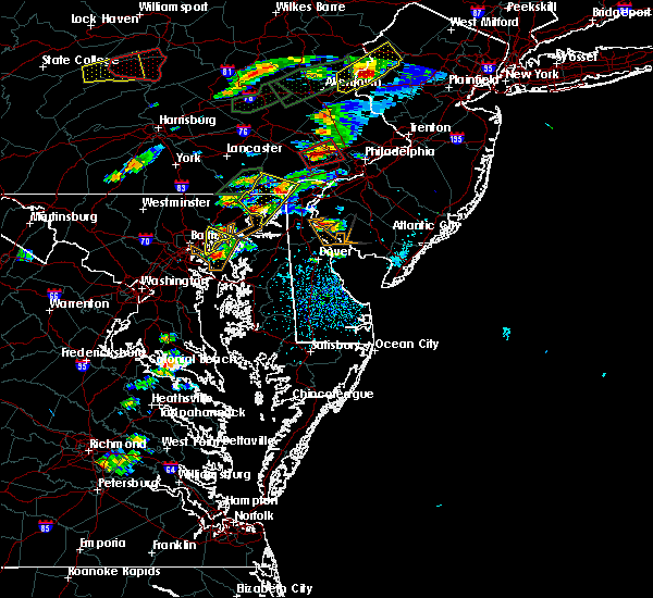 Radar Image for Severe Thunderstorms near White Marsh, MD at 6/30/2015 3:34 PM EDT