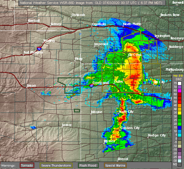 Radar Image for Severe Thunderstorms near Clayton, KS at 7/2/2020 7:40 PM CDT