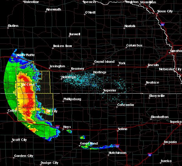 Radar Image for Severe Thunderstorms near Elwood, NE at 7/2/2020 7:41 PM CDT