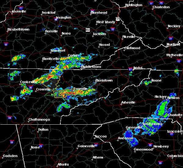 Radar Image for Severe Thunderstorms near Coalfield, TN at 6/30/2015 3:34 PM EDT