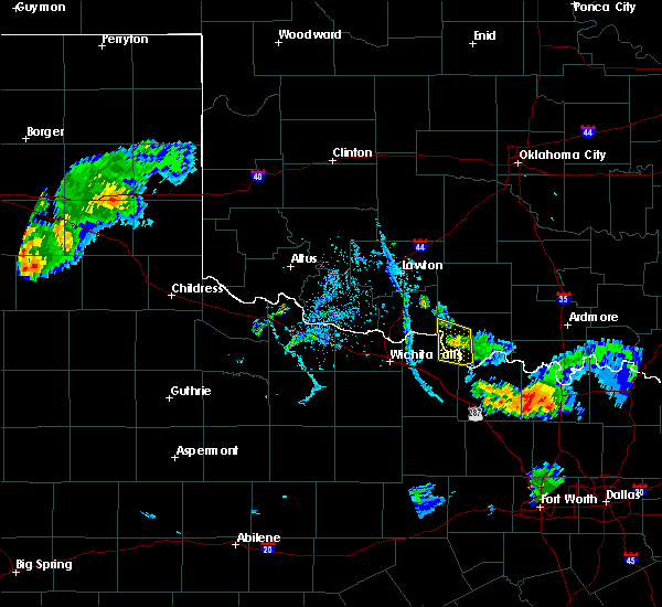 Radar Image for Severe Thunderstorms near Sugden, OK at 7/2/2020 7:53 PM CDT