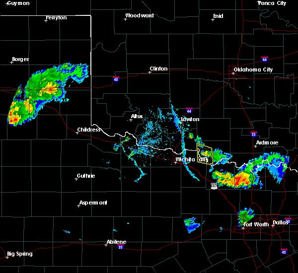 Radar Image for Severe Thunderstorms near Sugden, OK at 7/2/2020 7:54 PM CDT