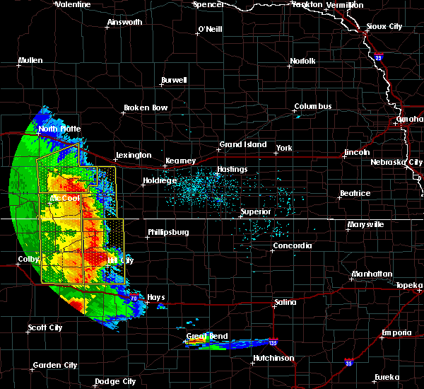 Radar Image for Severe Thunderstorms near Norton, KS at 7/2/2020 8:03 PM CDT