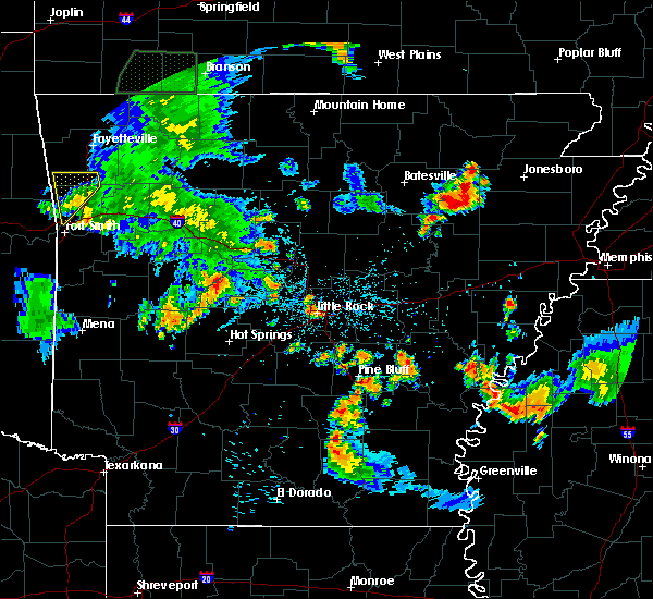 Radar Image for Severe Thunderstorms near Boyle, MS at 7/2/2020 8:22 PM CDT