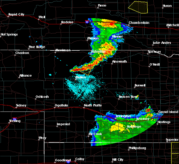 Radar Image for Severe Thunderstorms near Brownlee, NE at 7/2/2020 11:16 PM CDT