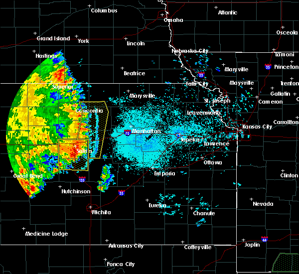 Radar Image for Severe Thunderstorms near Manchester, KS at 7/2/2020 11:49 PM CDT