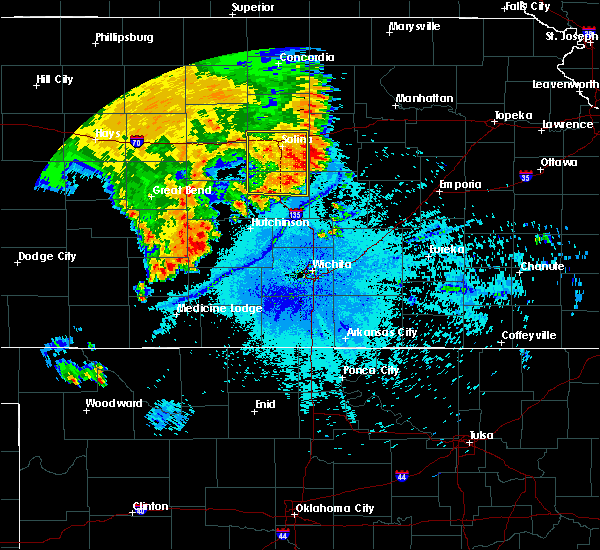 Radar Image for Severe Thunderstorms near Brookville, KS at 7/3/2020 12:10 AM CDT