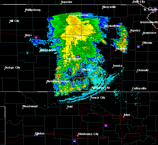 Radar Image for Severe Thunderstorms near Geuda Springs, KS at 7/3/2020 2:24 AM CDT