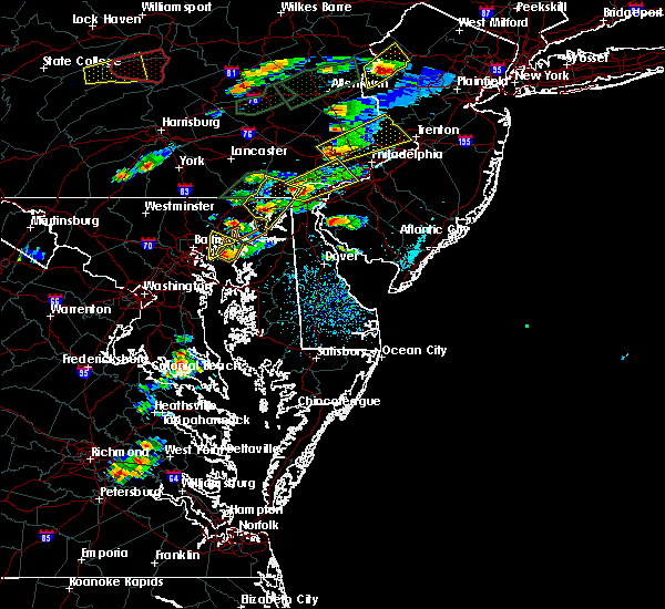 Radar Image for Severe Thunderstorms near Edgewood, MD at 6/30/2015 3:48 PM EDT