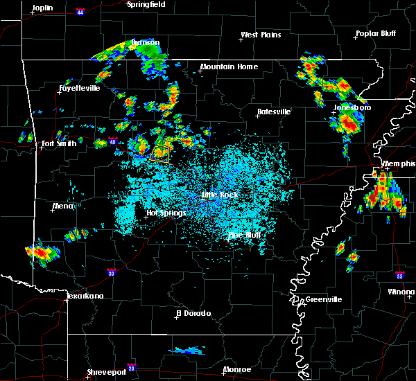 Radar Image for Severe Thunderstorms near Atkins, AR at 7/3/2020 4:15 PM CDT