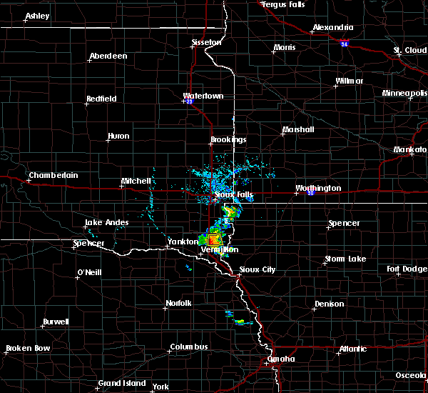 Radar Image for Severe Thunderstorms near Elk Point, SD at 7/3/2020 5:03 PM CDT