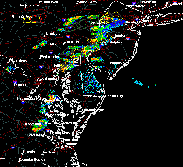 Radar Image for Severe Thunderstorms near Hockessin, DE at 6/30/2015 3:53 PM EDT