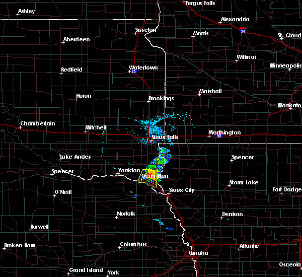 Radar Image for Severe Thunderstorms near Elk Point, SD at 7/3/2020 5:23 PM CDT