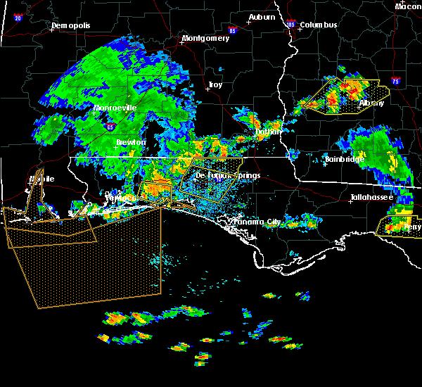 Radar Image for Severe Thunderstorms near Ponce de Leon, FL at 6/30/2015 2:53 PM CDT