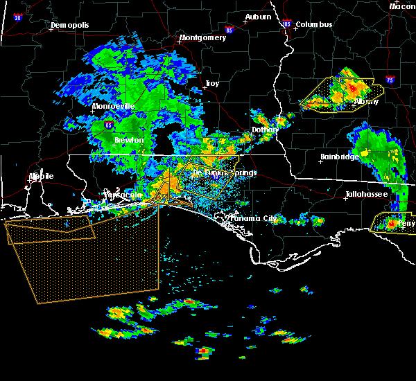 Radar Image for Severe Thunderstorms near Niceville, FL at 6/30/2015 2:57 PM CDT