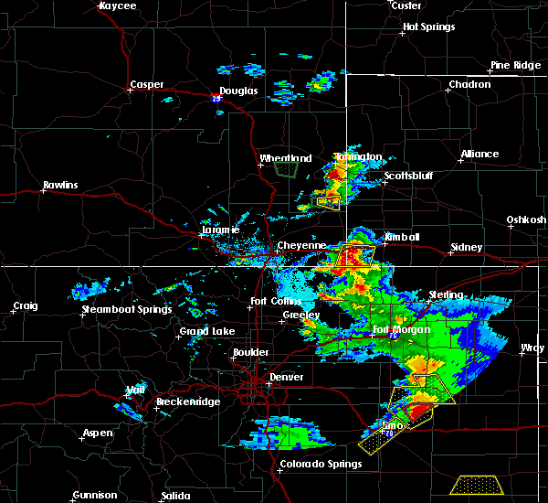 Radar Image for Severe Thunderstorms near Pine Bluffs, WY at 7/3/2020 6:42 PM MDT