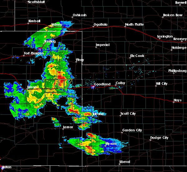 Radar Image for Severe Thunderstorms near Joes, CO at 7/3/2020 8:23 PM MDT