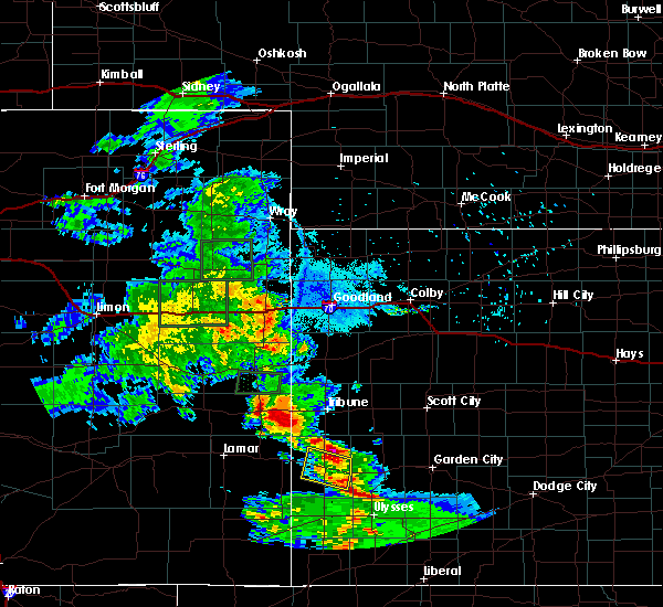 Radar Image for Severe Thunderstorms near Wallace, KS at 7/3/2020 9:12 PM MDT