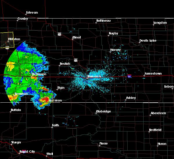 Radar Image for Severe Thunderstorms near Lemmon, SD at 7/3/2020 10:26 PM MDT