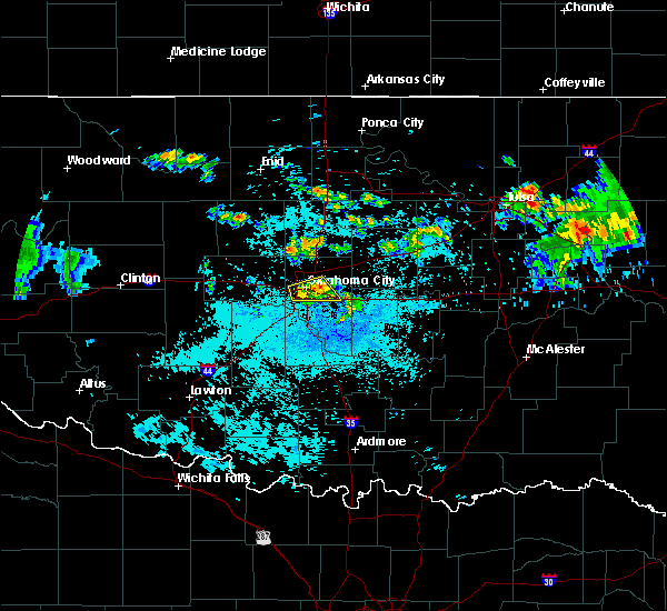 Radar Image for Severe Thunderstorms near Forest Park, OK at 7/4/2020 3:20 AM CDT