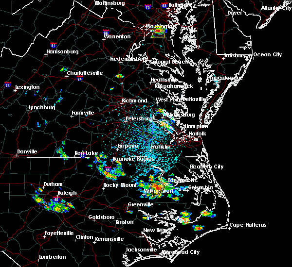 Radar Image for Severe Thunderstorms near Jamesville, NC at 7/4/2020 3:53 PM EDT