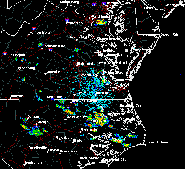 Radar Image for Severe Thunderstorms near Jamesville, NC at 7/4/2020 4:08 PM EDT