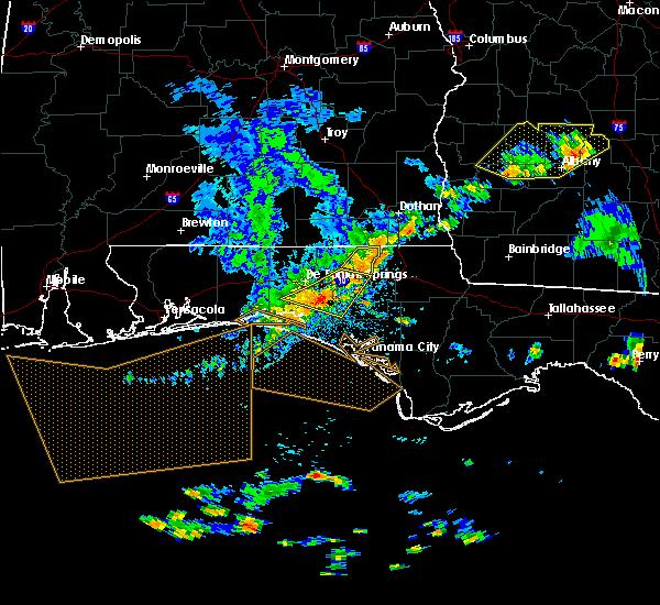 Radar Image for Severe Thunderstorms near Ponce de Leon, FL at 6/30/2015 3:23 PM CDT