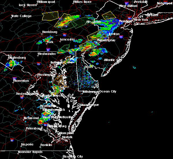 Radar Image for Severe Thunderstorms near Chesapeake Ranch Estates, MD at 6/30/2015 4:30 PM EDT
